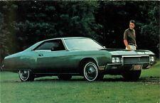 1970 Buick Riviera Sport Coupe, Dealer Promo Advertising Postcard