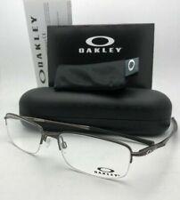 New OAKLEY Eyeglasses CLUBFACE OX 3102-0354 54-17 Semi-Rimless Pewter Frames