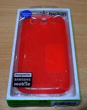 NEU : Samsung Galaxy S3 Belkin Case Schutzhülle Handyhülle Tasche Hard Cover rot