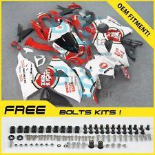 White GSXR1000 Fairing Kit Fit Suzuki GSX-R1000 2010 2011 12 13 2009-2016 012 UU