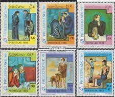 Laos 1162-1167 (complète edition) neuf avec gomme originale 1989 Exposition phil
