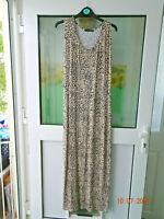 Atmosphere - Long/Maxi - Animal Print Dress - Size 12  - Sleeveless - Round Neck