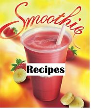 125+ Smoothie Recipes Sports Workout Protein Drink Cookbook Healthy on CD DVD
