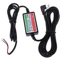 Car dash camera cam hard wire kit mini USB for car camcorder DVR 12V/24V to 5 LD