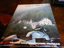 NOS NEW BMW Vintage Brochure 1985 European Delivery Motorcycle Program
