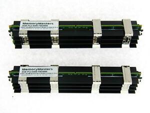 8GB KIT DDR2 800 MHZ ECC FBDIMM 2X4GB APPLE Mac Pro with Apple heat sinks 2RX4
