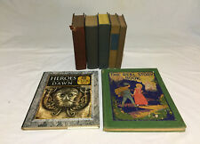 Lot of 7 Antique Vintage Story Fiction Books 1927 - 1996