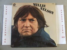 Willie Nelson Columbus Stockade Blues & Other Country Favorites Lp Acl-7018