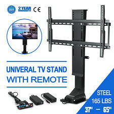"""TV Mount Lift for 37""""- 65"""" TVs Height Adjustable w/ Remote Controller"""