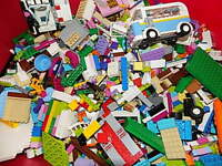 Lego FRIENDS Toy Lot Bulk 5 Lbs Mixed Building Bricks Parts Pieces Girl {WASHED}