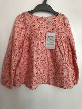 Girls Top Tunic Shirt from VERTBAUDET BRAND NEW WITH TAGS SALMON PINK 5 YEARS