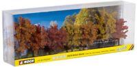 NOCH 25070 - Set 7 alberi autunnali da 7 a 10 cm.