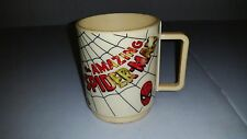 Vintage Deka The Amazing Spider-Man Marvel Comics Plastic Cup Mug 1977