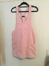 New Look 915. Dusky Pink Cord Dungaree Dress. Age 15.