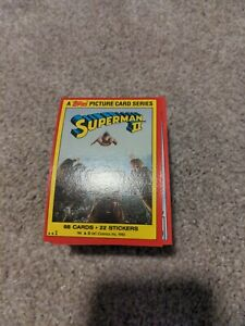 1980 Topps Superman 2 2nd Movie Complete Set 88 Cards