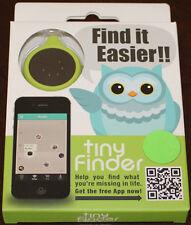 Tinyfinder, Mini Bluetooth Dispositif pour Perdu et Found, Tout Neuf, Vert/Noir