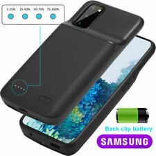 For Samsung Galaxy S20/Plus/Ultra Black Battery Charging Case Cover Power Bank