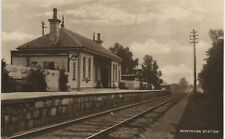 More details for monymusk near kemnay & alford. railway station by andrew petrie & sons.