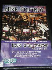 Mike Portnoy Liquid Drum Theater (2 DVD, 2001) NEW