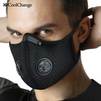 PM2.5 reusable outdoor clean air face filter mask cover face haze smog mask