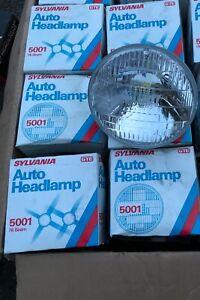 Set of 6 SYLVANIA 5001 AUTO HEADLAMPS