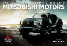 Mitsubishi Mi-tech, K-Wagon concept cars_Japan_Tokyo Show 2019 Prospekt Brochure