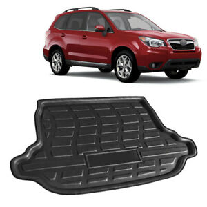 For Subaru Forester 2013-2018 17 Rear Trunk Tray Cargo Boot Mat Floor Protector