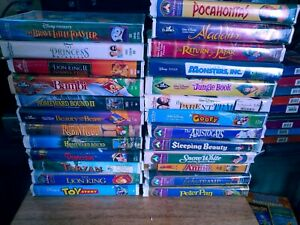Disney Movies VHS Lot Of 25