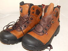 Red Wing Mens Waterproof Leather Work Boots CRV Size 10  USA Made