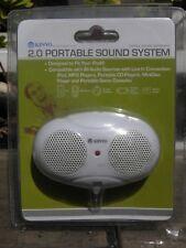 Brand New Kinyo 2.0 Portable Ipod Mini Sound System Speakers FREE SHIPPING!!