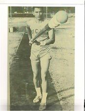 Track & Field Olympics Pole Vault C.K.Yang Bodybuilding Muscle Photo B&W