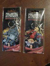 Fullmetal Alchemist Brotherhood Edward Elric & Al Pvc Keychain Lot Anime