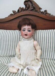 Antique German Kammer & Reinhardt Simon & Halbig 126 Character Bisque Head Doll