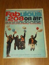 FABULOUS 208 MUSIC MAGAZINE 2ND JULY 1966 HOLLIES DAVID MCCALLUM PAUL JONES