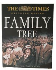 CD ROM - FAMILY TREE - THE TIMES