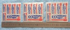 3x Thunder Tiger Engine Stickers