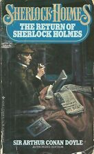 The Return of Sherlock Holmes by Arthur Conan Doyle (1979, Paperback)