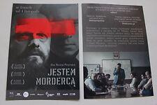 Jestem mordercą (2016)  - Polish promo FLYER