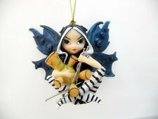 JASMINE BECKET GRIFFITH.SKULL FAIRY VOODOO DOLL FIGURINE. STRANGLING ORNAMENT