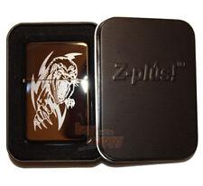 Feuerzeug Z-Plus Cool black Ice Lion inklusive Gravur