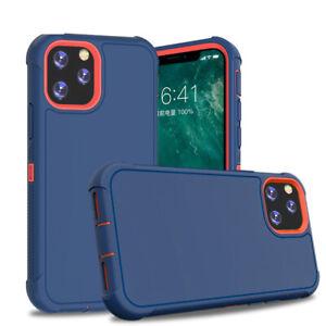 iPhone 11 Pro Max Slim Defender Shockproof Hybrid Case Cover