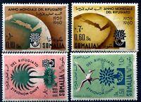 SOMALIA AFIS 1960 - ANNO DEL RIFUGIATO  PO+PA Serie  Nuova **