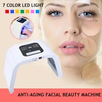 LED Light Therapy Skin Rejuvenation PDT Anti-aging Facial Beauty Machine 7 Color