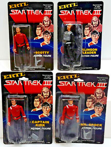 1984 Star Trek III Search for Spock ERTL Figure Collection-Your Choice or Set 4