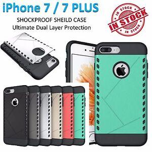 iPhone 7 Case 7 Plus Shield Armor Phone Cover Shockproof Tradesman Tough Bumper