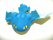 Blue Night Fury How To Train Your Dragon Mini Plush Tap Toy Sounds Noises New