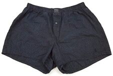 POLO Ralph LAUREN Sleep SHORTS Medium CHECKED Black WHITE Pony LOGO Cotton 32-34