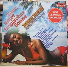 ROBERT DELGADO ET LE TRINIDAD STEEL & SHOW-BAND FRENCH PRESS LP POLYDOR 1980