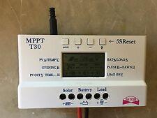 Regolatore carica batterie per impianto solare MPPT T30 30A con TIMER e USB