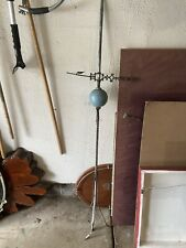 Antique Lightning Rod Weathervane w/ Arrow and Blue Glass Bulb